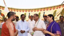 CM KCR visit yadgirigutta (9)