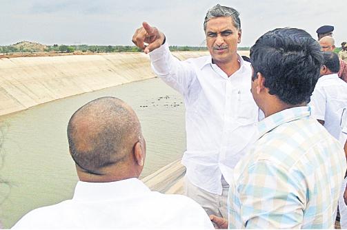 Harish Rao inspects Nagarjunasagar ayacut