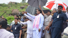 KCR laid foundation stone for Dindi lift irrigation project (3)