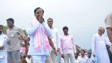 KCR laid foundation stone for Dindi lift irrigation project (5)
