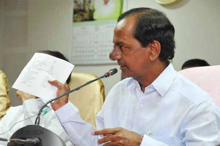 KCR press meet after cabinet meeting 10-06-15