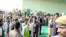 CM KCR in Harithaharam programme at peddapalli (11)