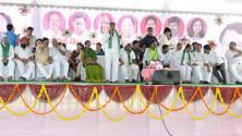 CM KCR in Harithaharam programme at peddapalli (2)