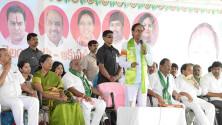 CM KCR in Harithaharam programme at peddapalli (7)