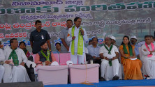 CM KCR participated in Harithaharam program in Nizamabad districrt (1)