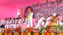 CM KCR participated in Harithaharam program in Nizamabad districrt (2)