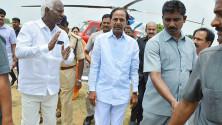 KCR launching of Grama Jyothi programme in Gangadevipalli village (2)