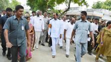 KCR launching of Grama Jyothi programme in Gangadevipalli village (4)