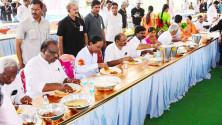 KCR launching of Grama Jyothi programme in Gangadevipalli village (5)