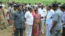 KCR launching of Grama Jyothi programme in Gangadevipalli village (7)