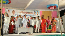 KCR participated in chinna mulkanoor Gramasabha