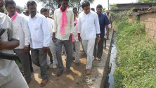 KTR participated in Gramajyothi programme in Ramannapet of siricilla constituency (10)