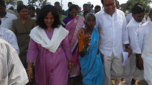 KTR participated in Gramajyothi programme in Ramannapet of siricilla constituency (2)