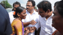KTR participated in Gramajyothi programme in Ramannapet of siricilla constituency (7)