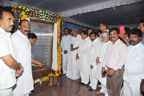 CM-KCR-inaugurated-Kerala-Bhavan