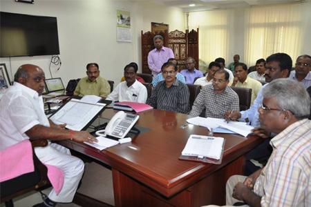 Jogu Ramanna review meet on BC welfare