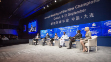 KCR in World Economic forum meeting at China (3)