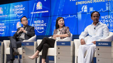 KCR in World Economic forum meeting at China (5)