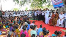 CM KCR addressing in Erravelli village of Medak district (1)
