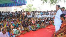 CM KCR addressing in Erravelli village of Medak district (3)
