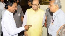 CM KCR met Union Minister for Finance Sri Arun Jaitley (2)