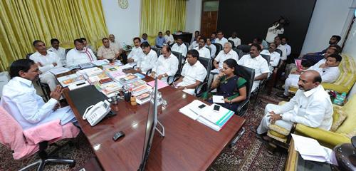 CM-KCR-review-on-Nizamabad-dist-development