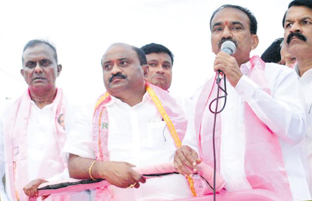Etela Rajendar election campaign in Parakal Constituency