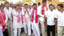 Indrakaran Reddy election campaign in Dharmasagar