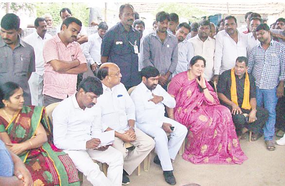 Jagadish reddy election campaign in Kondur