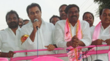KTR campaigning in station ghanpur