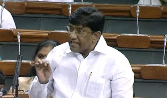 Vinod kumar speech in Parliament
