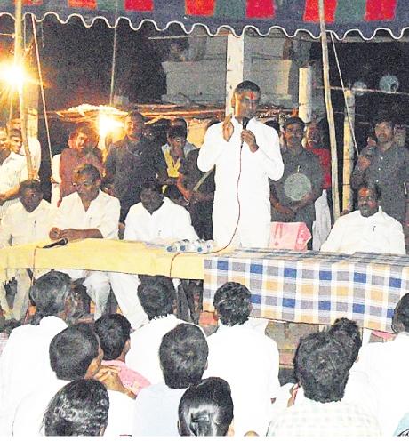 Harish Rao election Campaign in Narayanaked