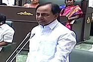 CM KCR in Assembly