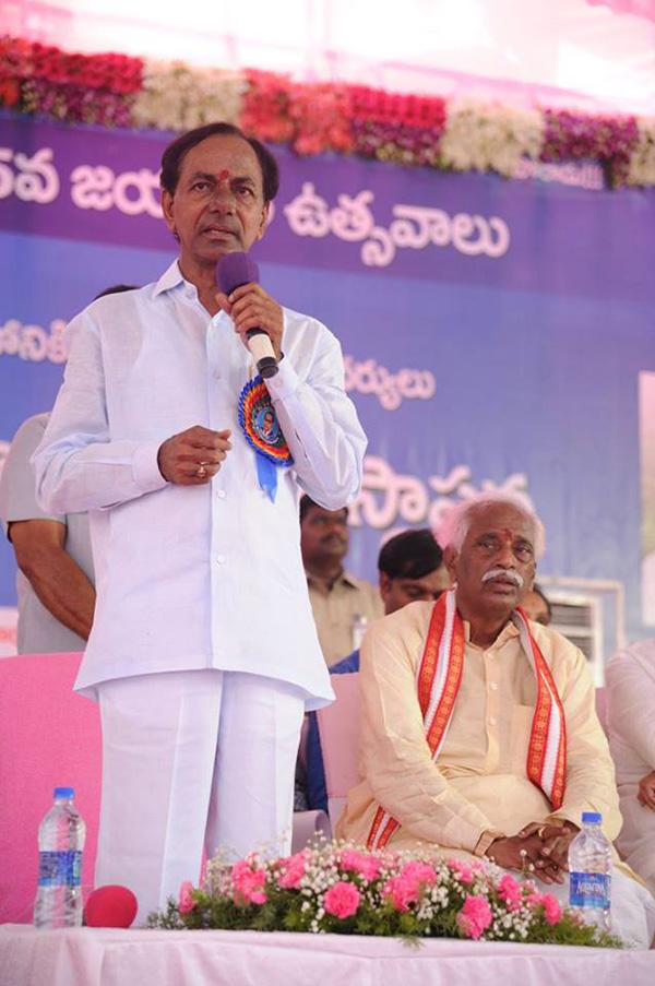 CM KCR in 125th Ambedkar jayanthi  (4)